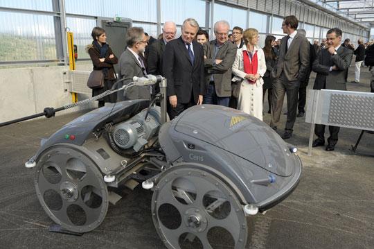 Inauguration de la nouvelle installation de thermo-system pour Nantes métropole