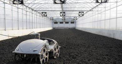 La nouvelle installation de séchage de boues par énérgeie solaire
