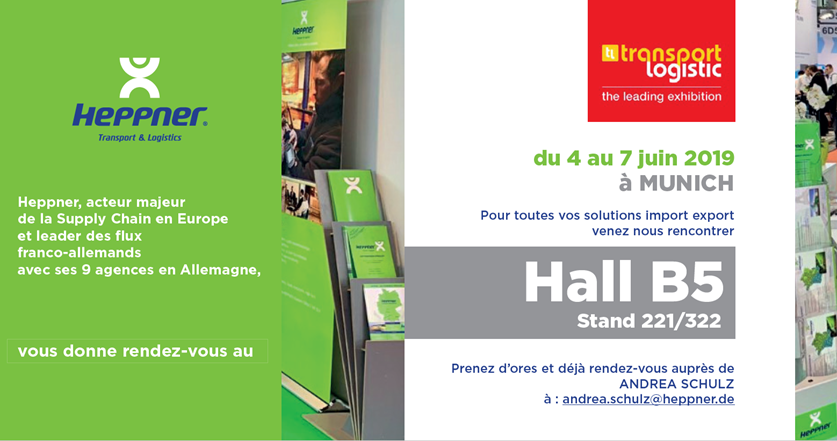 Heppner au salon Transport-logistic