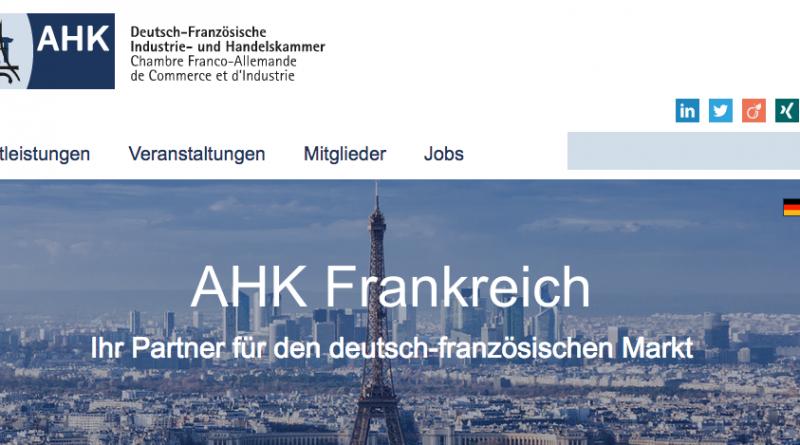 Leitung der Abteilung Recht und Steuern – AHK Frankreich