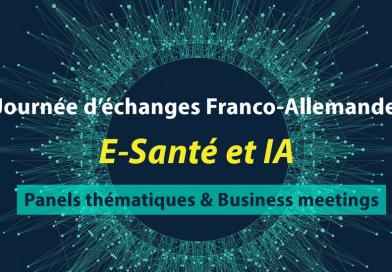 Journée d'échanges Franco-Allemande dans l'E-Santé et l'Intelligence Artificielle