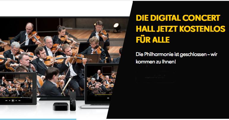 La Philharmonie de Berlin vous invite dans sa Salle de concert numérique