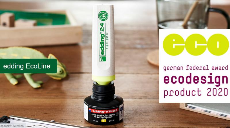 """Langlebigkeit: edding """"EcoLine"""" gewinnt Ecodesign-Award"""
